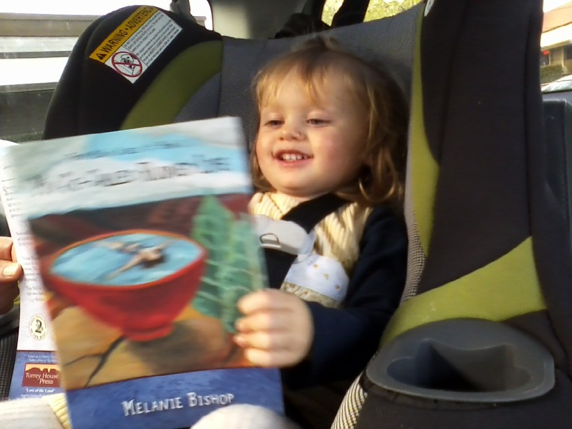 Clara checks out her great-Aunt Melanie's book!